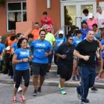 DG leads annual fitness drive