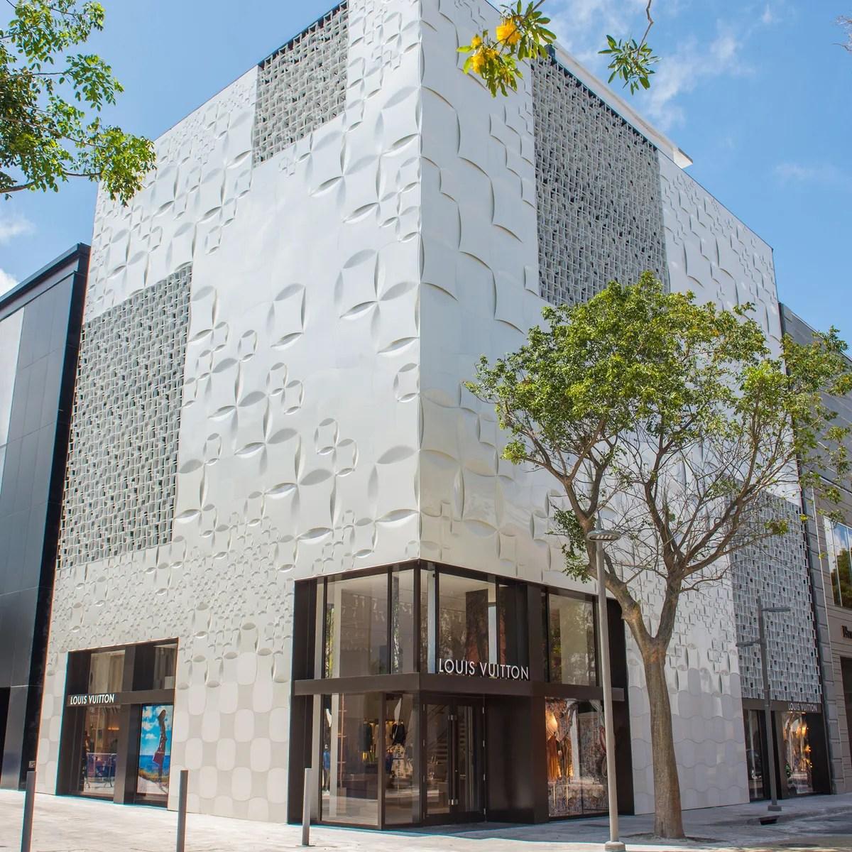Louis Vuitton Miami Design District Miami FL USA Shop