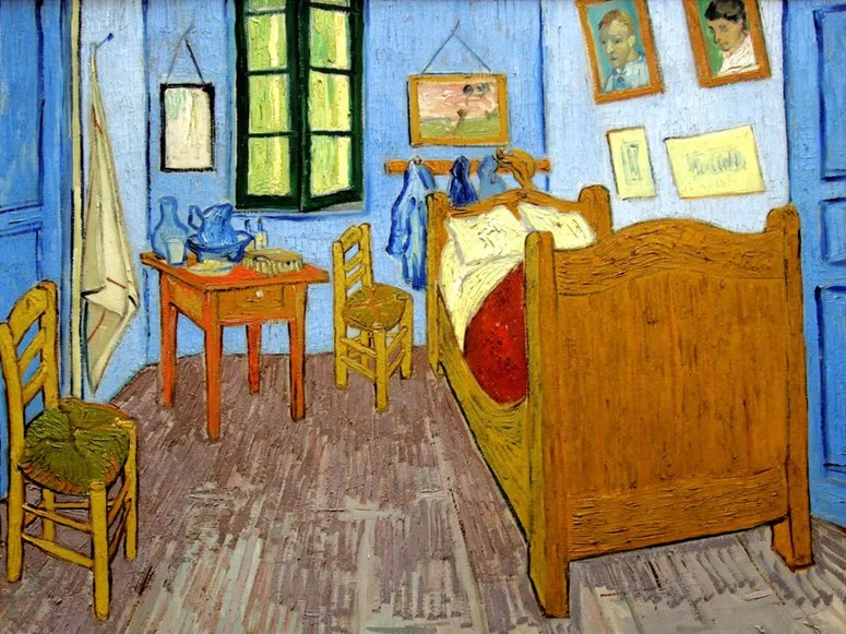 rent vincent van gogh's bedroom (for $10 a night!) on airbnb