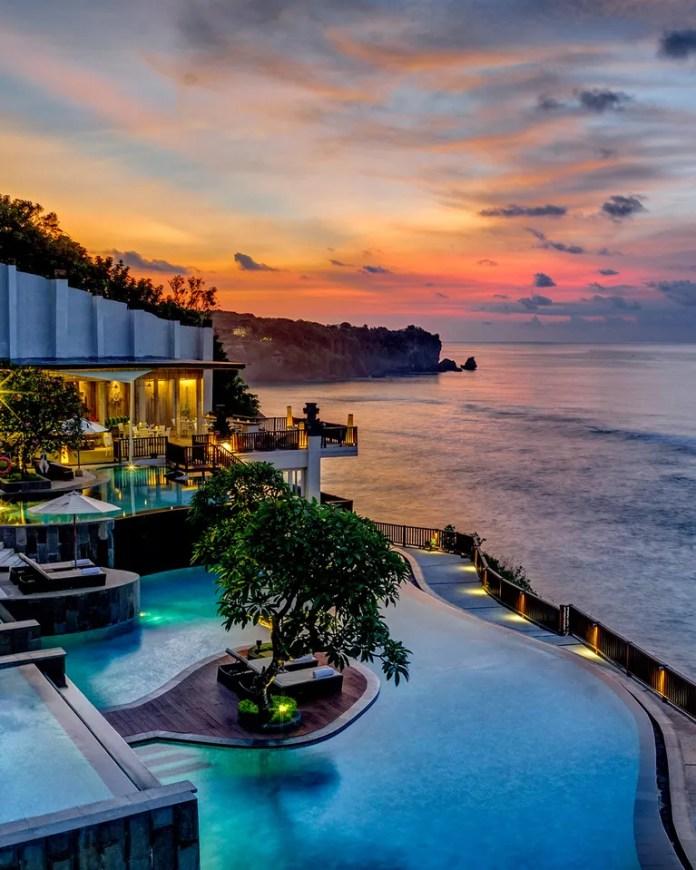 Anantara Uluwatu Bali Resort, Uluwatu, Bali, Indonesia ...