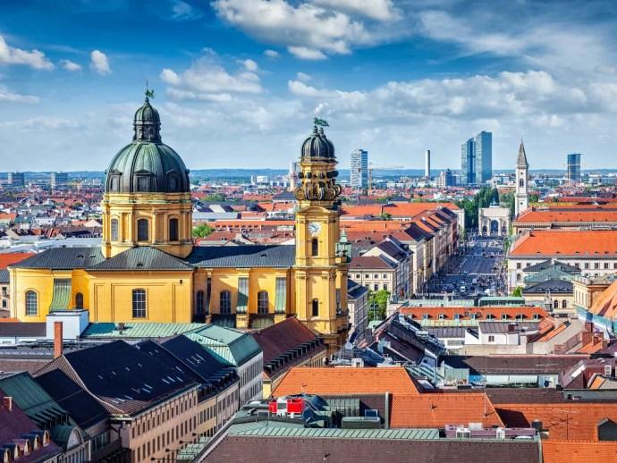 Munich melhores cidades da Europa para visitar