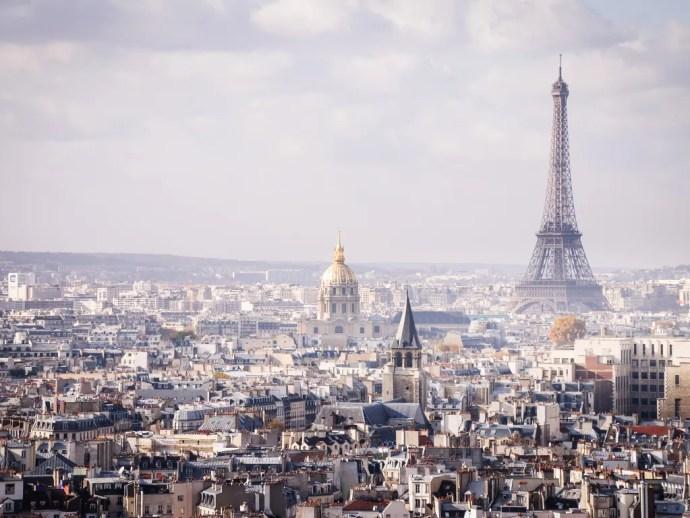 melhores cidades da Europa para visitar paris