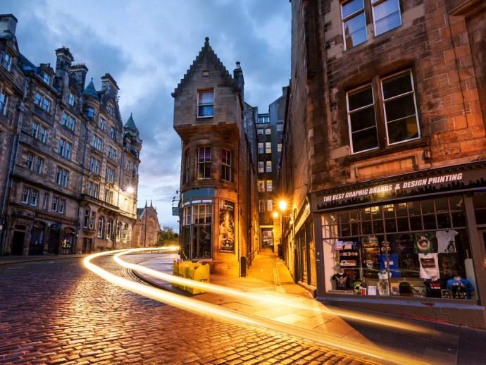 melhores cidades da Europa para visitar edimburgo