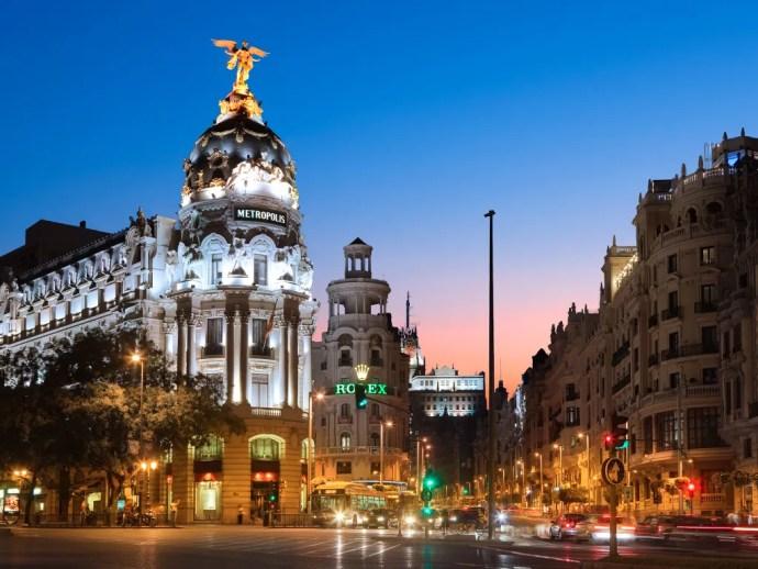 melhores cidades da Europa para visitar madrid