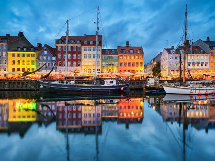 melhores cidades da Europa para visitar copenhague