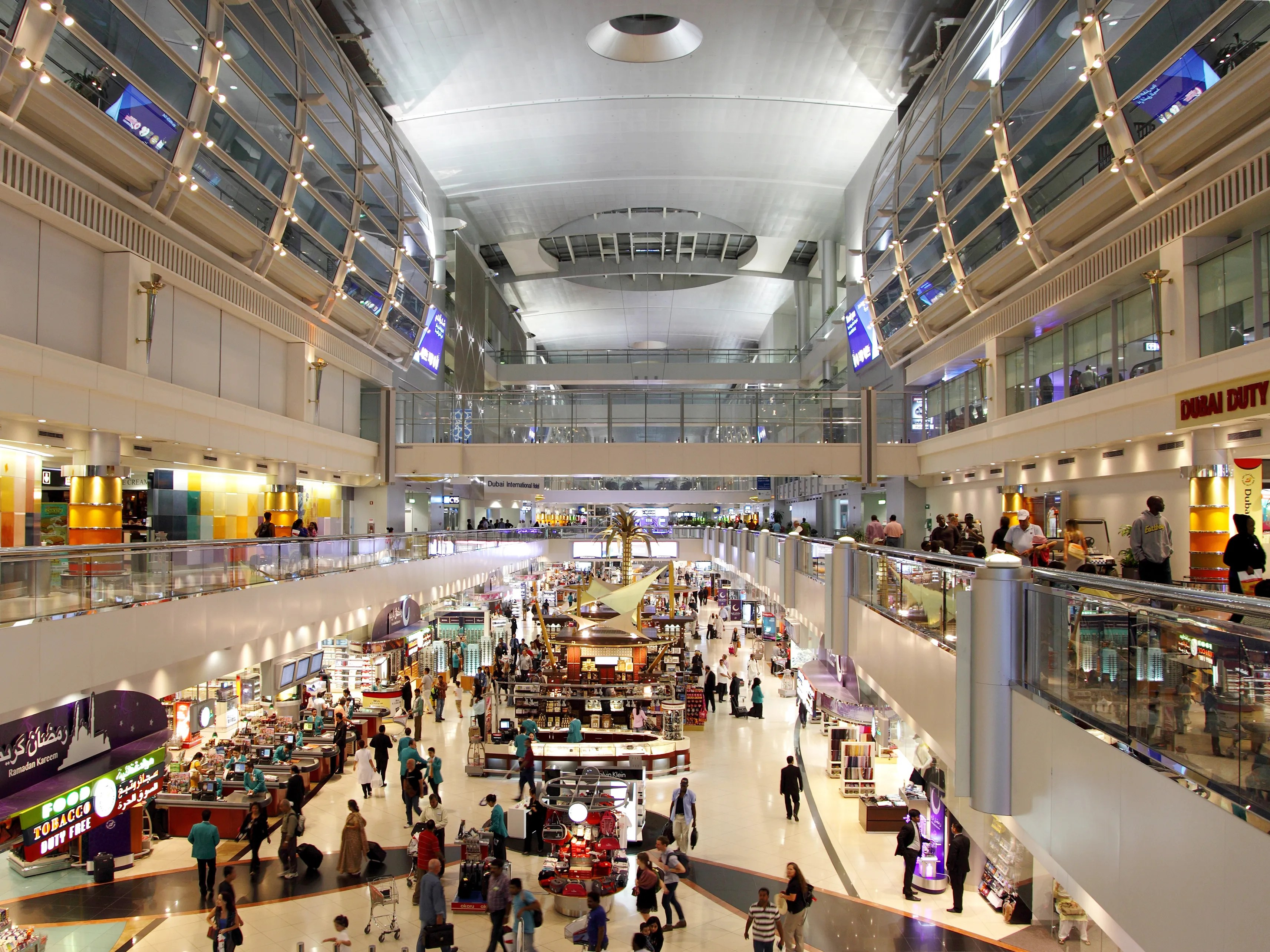 Dubai Airport Terminal 3 Restaurants