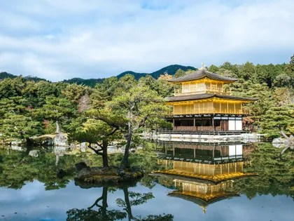 Image may contain: Building, Architecture, Temple, Nature, Worship, Shrine, Outdoors, Pagoda, and Water