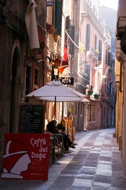 Venice, Coffee, Caffè del Doge