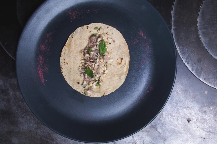 Taco De Escamoles Mexico