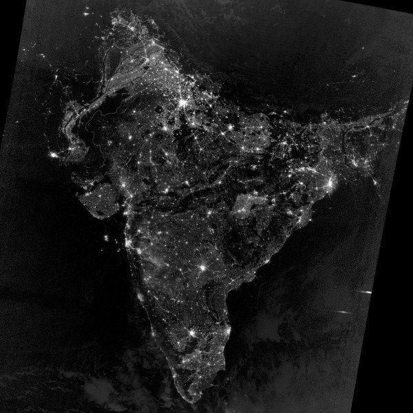 """Nah! Even the latest """"Diwali from space"""" photo is not true ..."""