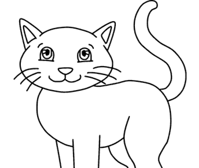Cats Coloring Pages Free Printable Cat Coloring Sheets
