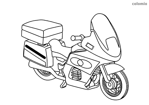 Motorcycles Coloring Pages Free Printable Motorcycle Coloring Sheets