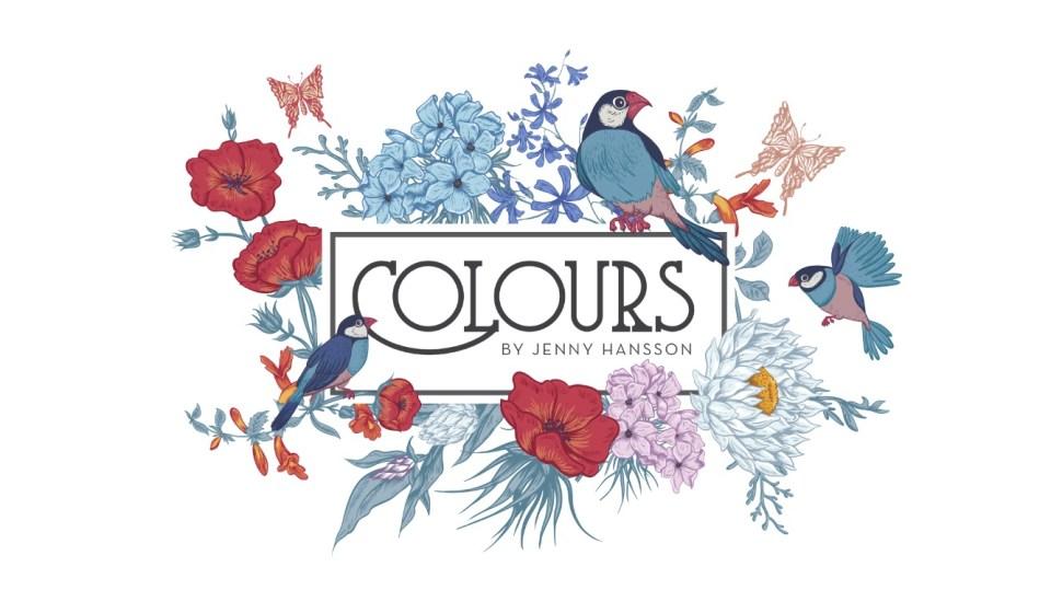 Salong Colours by Jenny Hanssons vackra logotype