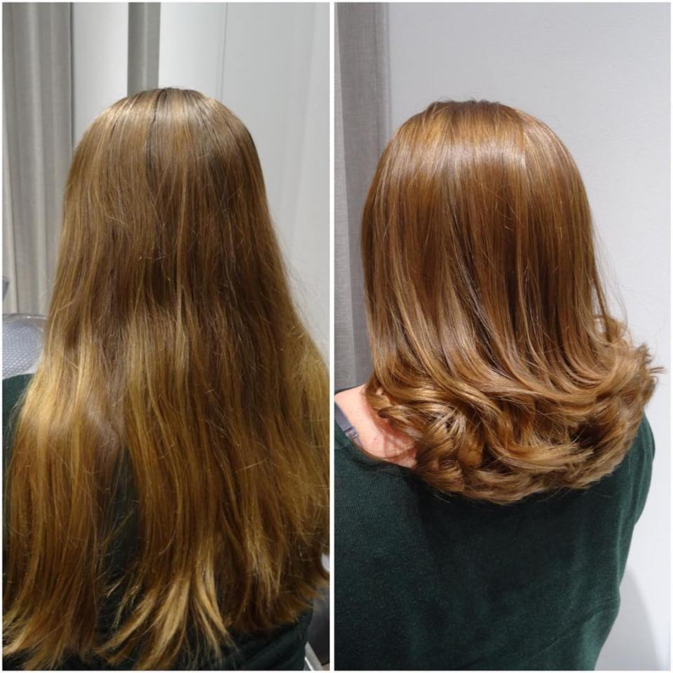 Makeover✨✨✨Read more at my blog www.colorista.nu #jennyhansson #blog #beforeandafter #makeover #hårfärg #haircolor #haircut #glamour #oribe #mastey #masteycolor #colorista #coloursbyjennyhansson