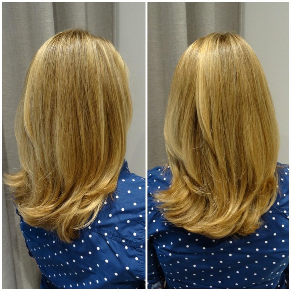 En brunett och en blondin...
