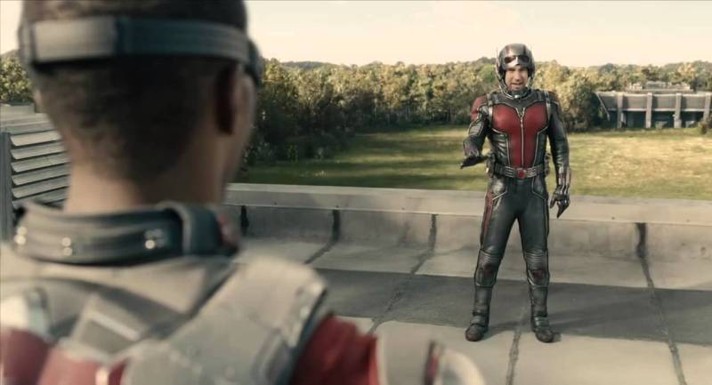 Image result for anthony mackie falcon ant man