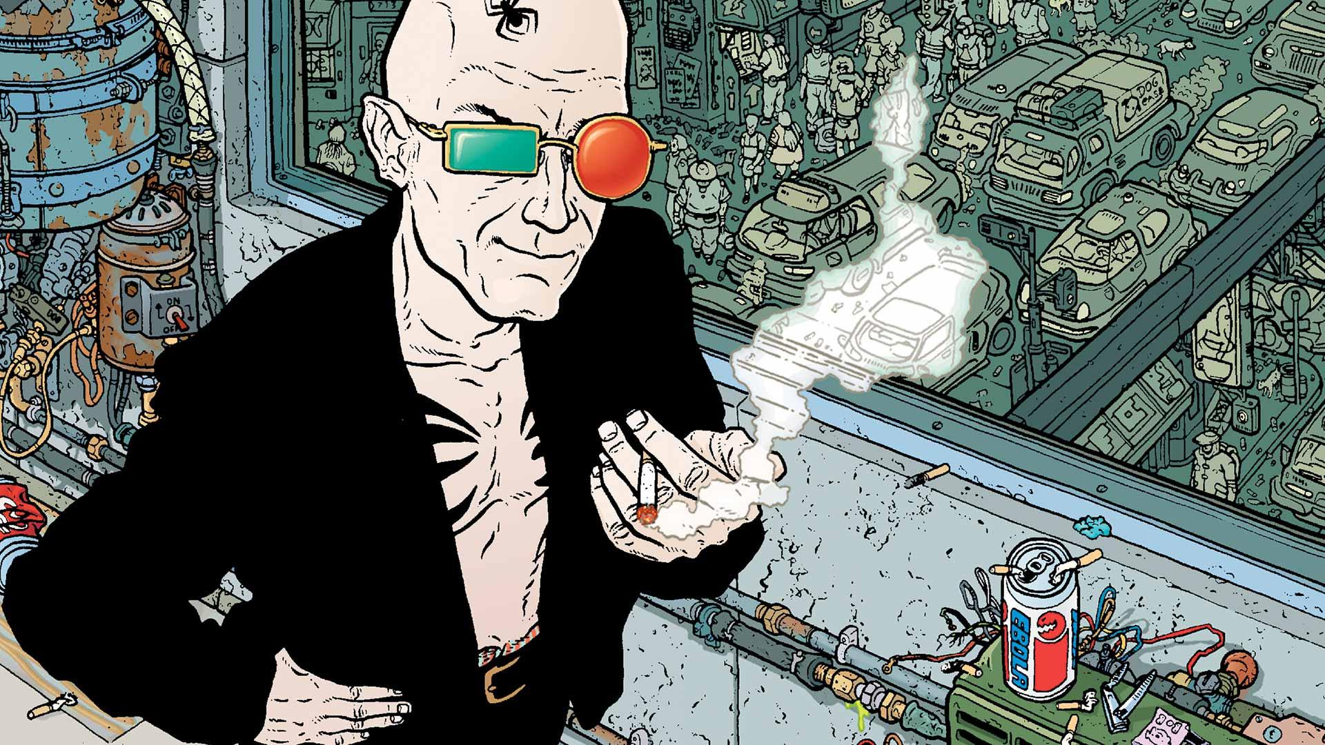 Transmetropolitan - Vertigo Comics