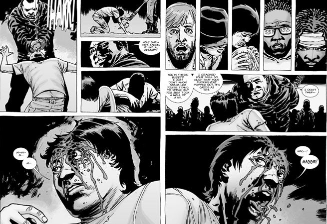 Morte do Glenn (The Walking Dead Comics)