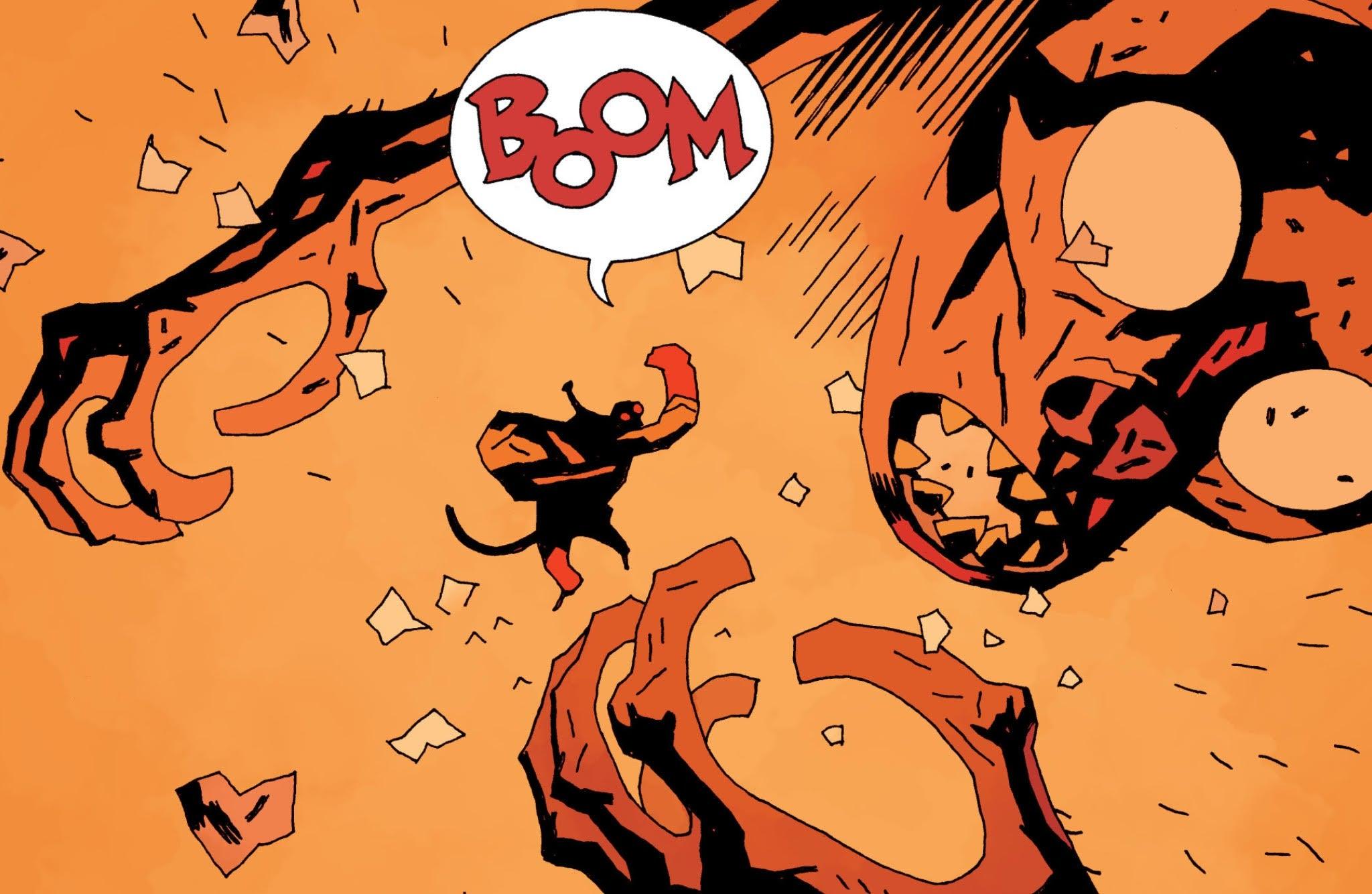 14 Best Comics of 2015 - Hellboy in Hell