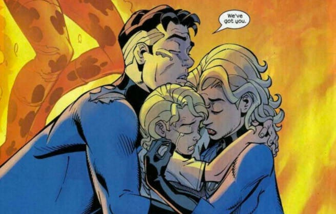 Mister Fantastic and Invisible Woman Romance