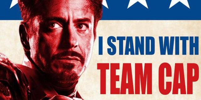 Avengers War Civil Marvel Sides