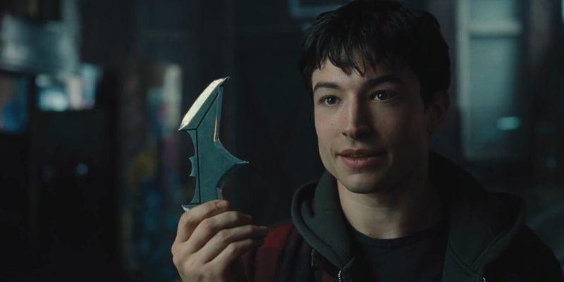 Justice League Trailer - Barry Allen Batarang