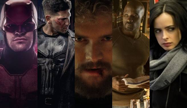 Image result for Marvel Netflix