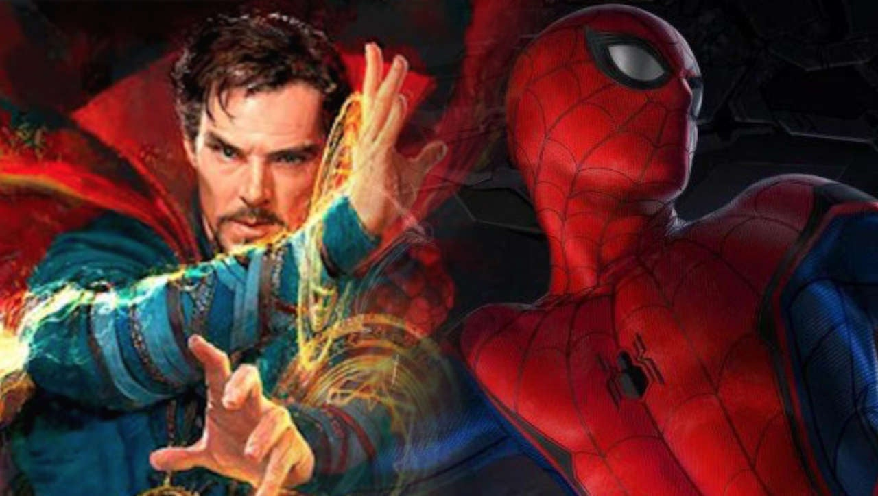 Image result for spiderman and doctor strange