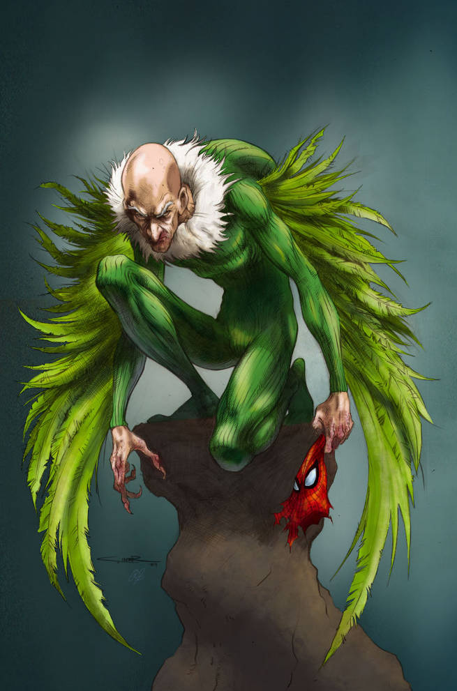 Image result for vulture spiderman
