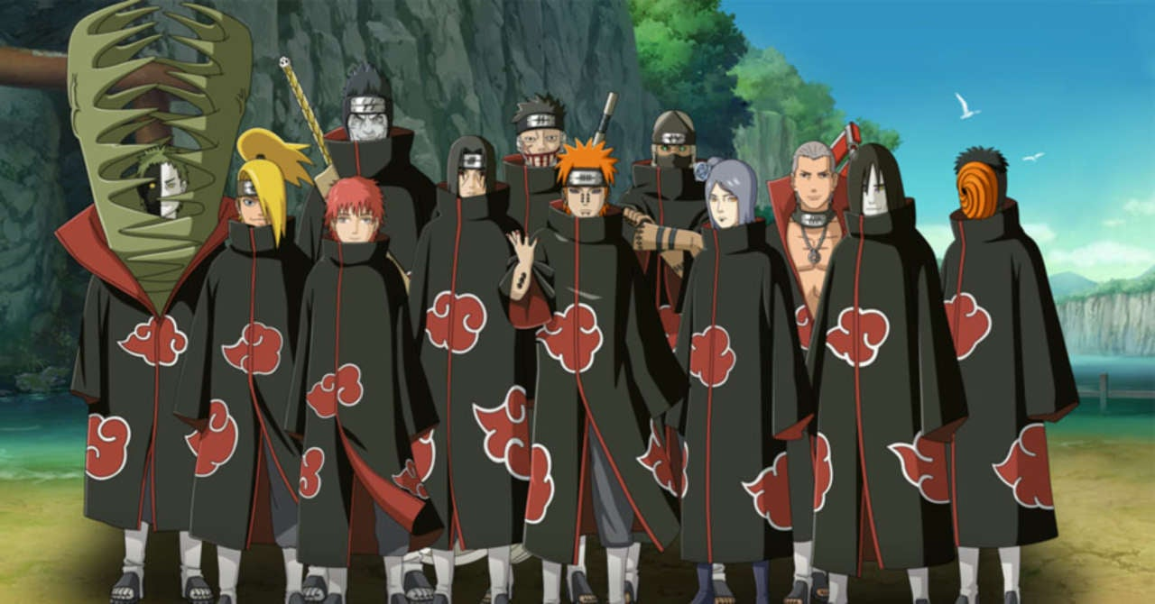 naruto: ranking the akatsuki's strongest ninja