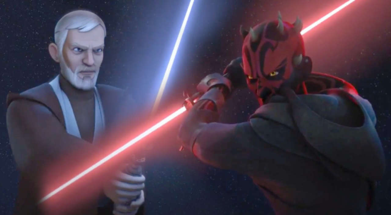 Image result for maul kenobi