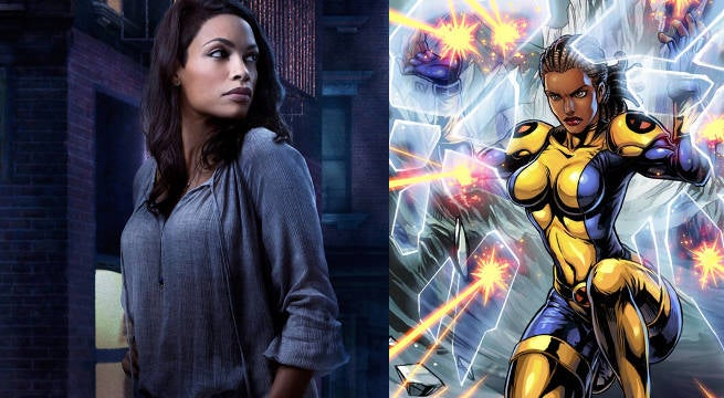 Image result for Rosario Dawson new mutants
