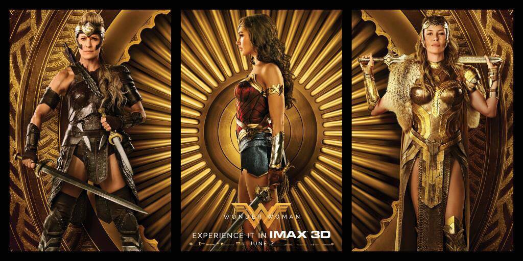 Image result for wonder woman imax poster