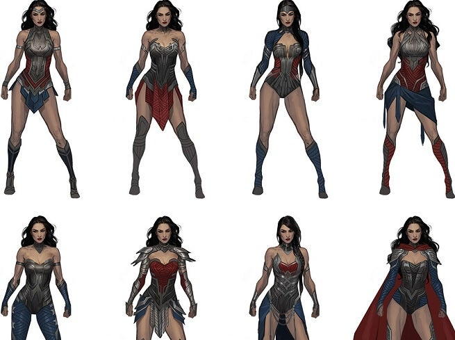 Injustice 2 Concept Designs Vs Final Designs Which Are