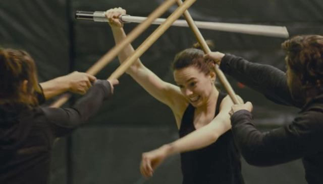 star wars last jedi behind the scenes rey battle