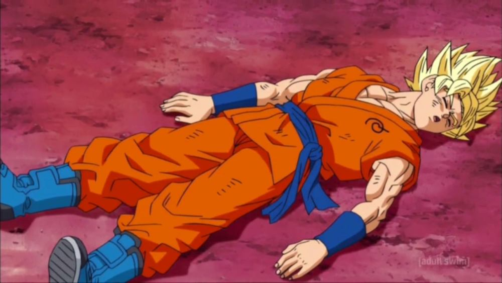 Dragon Ball Super' Just Saw Goku Get Knocked Out