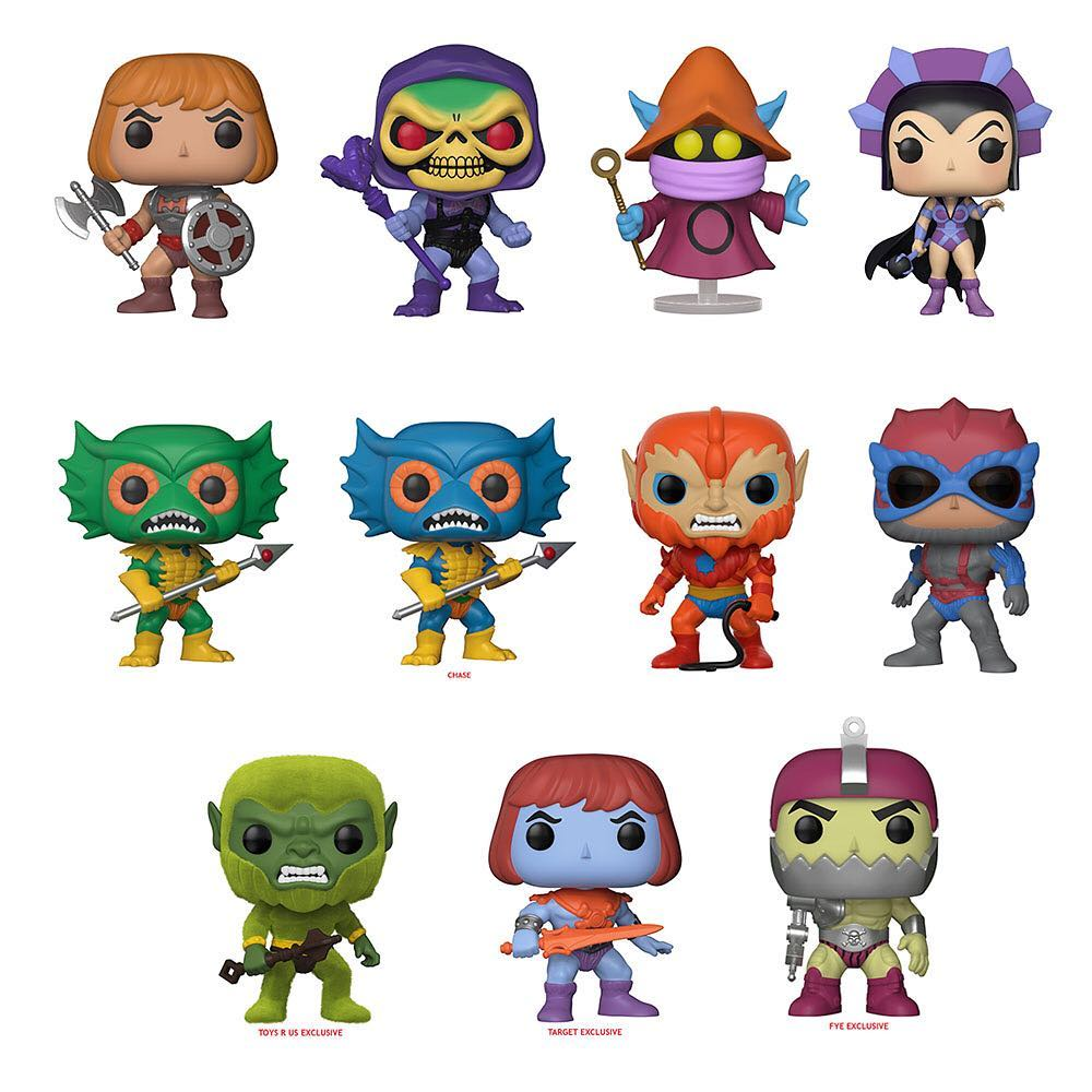 Funkos New He Man Figures Have The Power