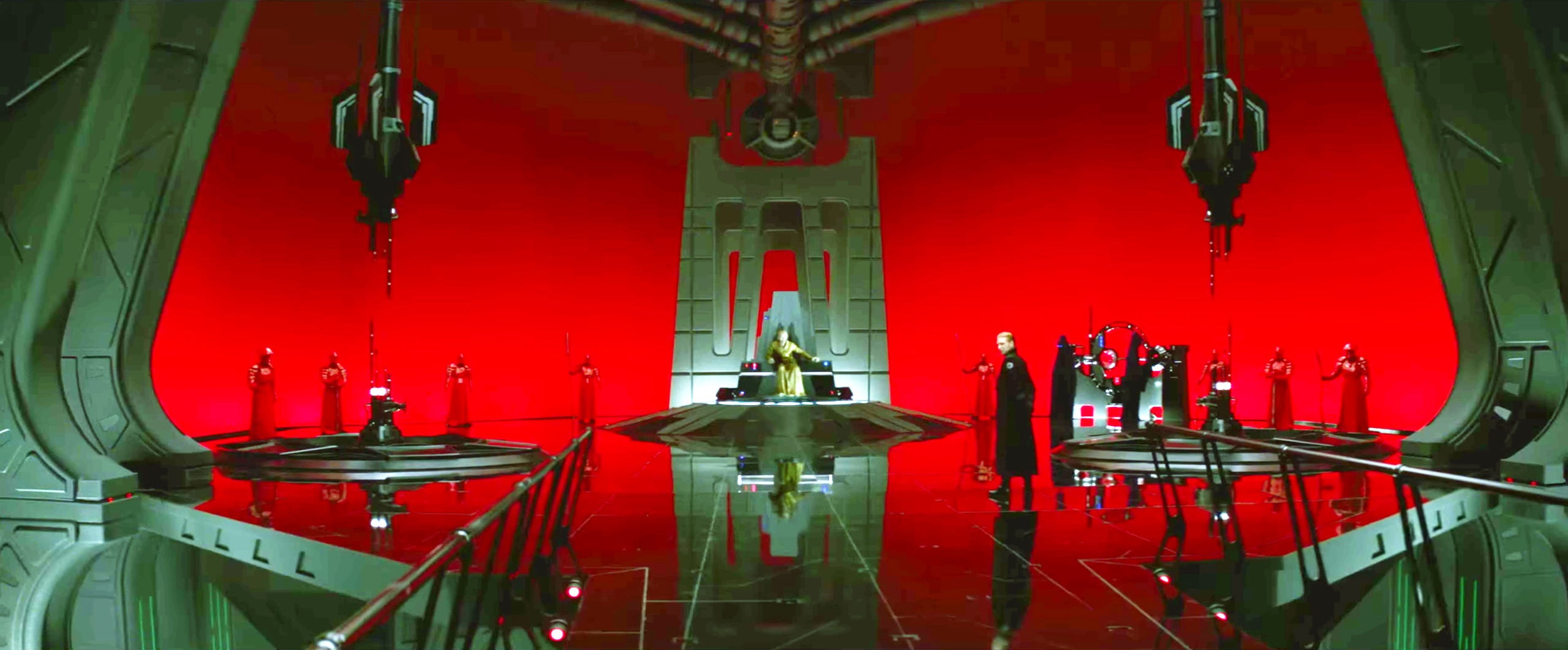 Image result for snoke throne room