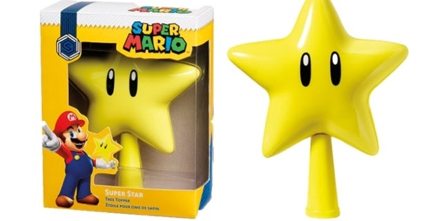 This Super Mario Star Topper Completes Your Christmas Tree