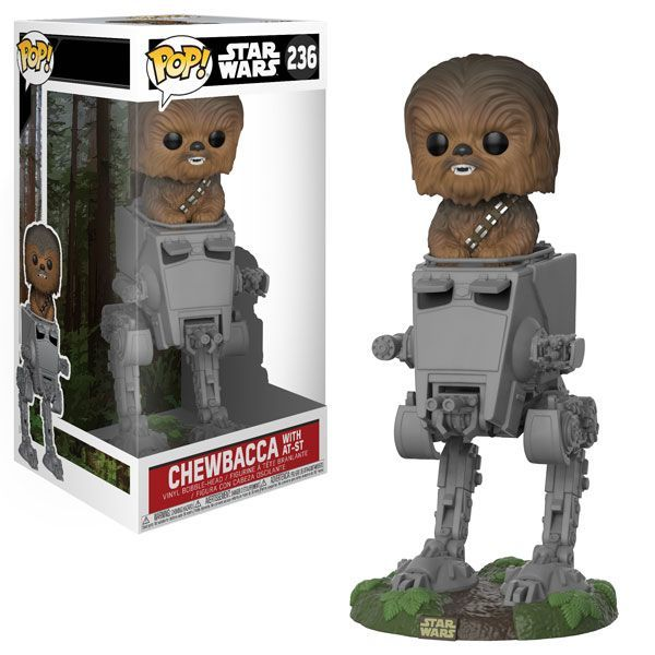 Image result for Funko Puts Chewbacca in an AT-ST for Their Latest 'Star Wars' Figure