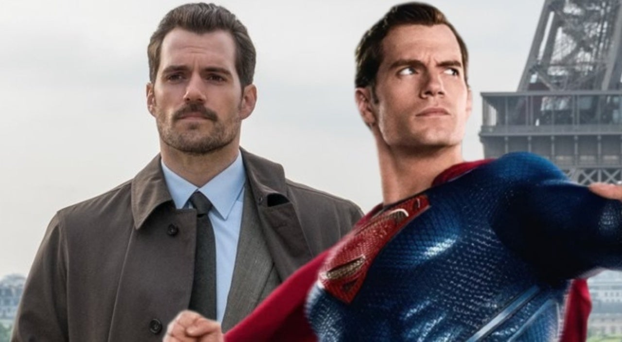 Image result for mustache henry cavill justice league mission impossible fallout