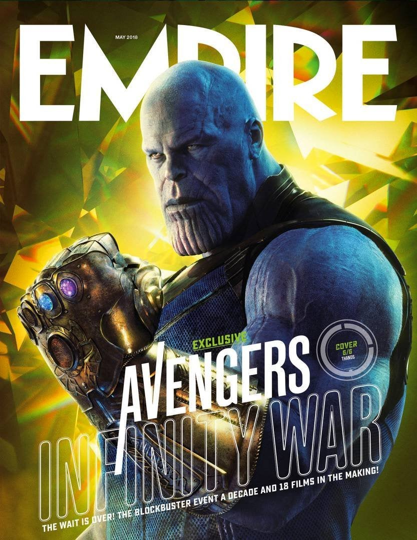 Six New Avengers Infinity War Covers Revealed By Empire