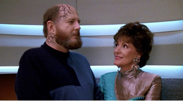 David Ogden Stiers Star Trek The Next Generation