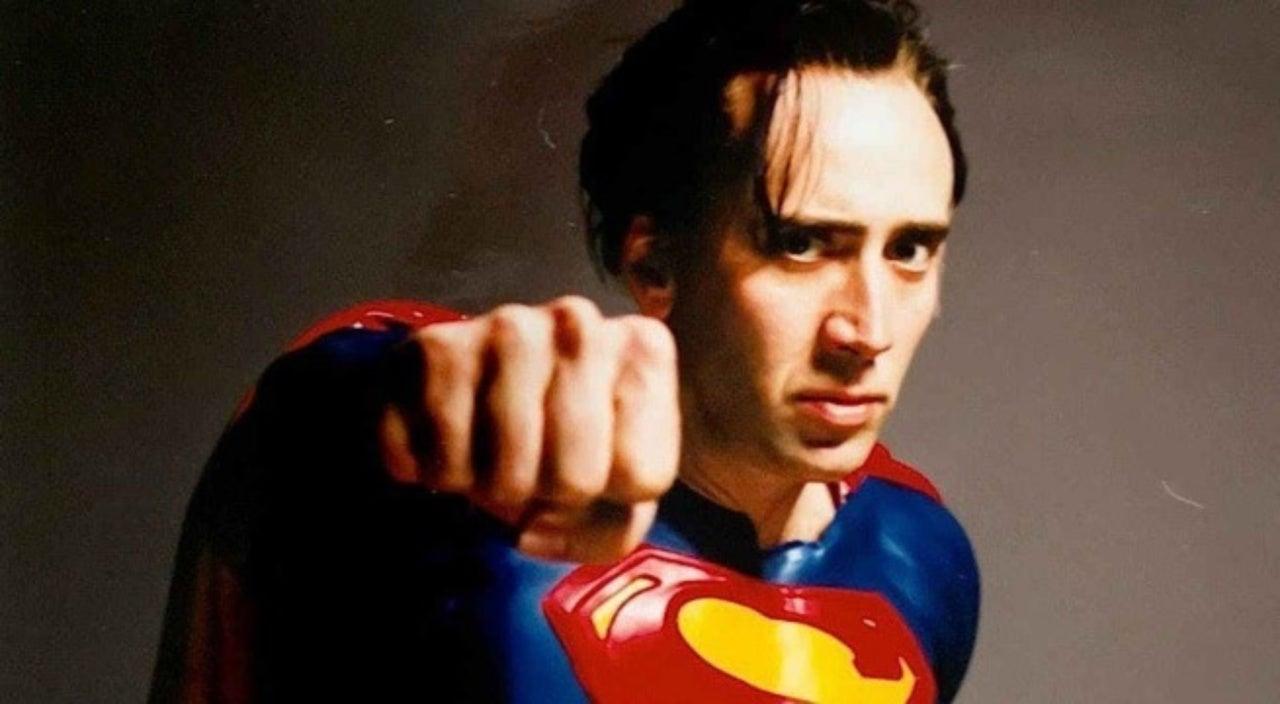 Image result for nicolas cage superman