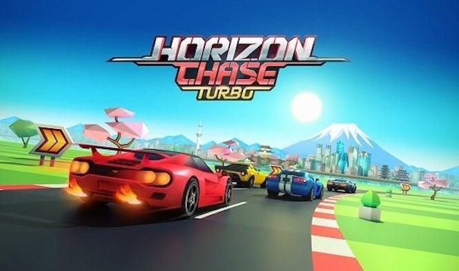 Perseguição do horizonte Turbo