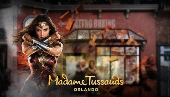 Wonder Woman Gal Gadot - Madam Tussauds Justice League