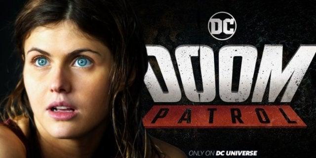 Doom Patrol Alexandra Daddario comicbookcom