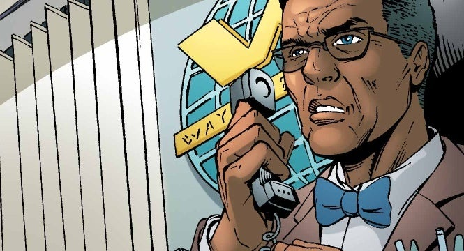 lucius fox dc comics
