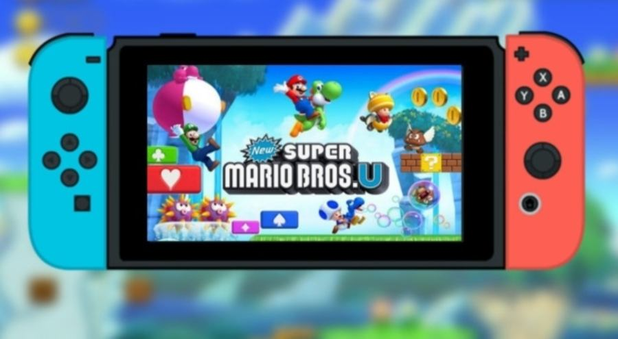 New Super Mario Bros. U switch port