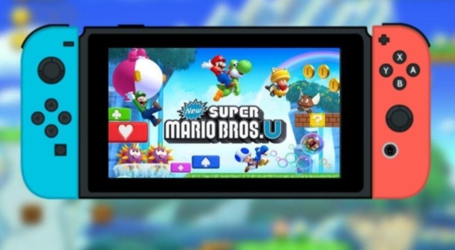 New Super Mario Bros. U switch port